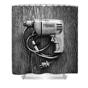 Porter Cable Drill On Plywood 76 In Bw Shower Curtain