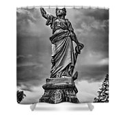 Porter Monument Shower Curtain