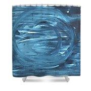 Porthole To The World Shower Curtain