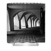 Portico - Sudtirol / Italy Shower Curtain