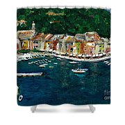 Portifino Italy Shower Curtain