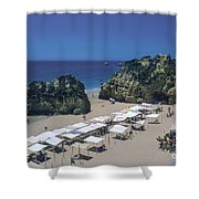 Portimao Beach Shower Curtain