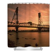 Portland Bridge Shower Curtain