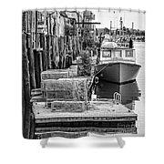 Portland Dock Shower Curtain