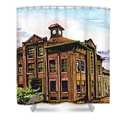 Portland Gas And Coke Building Without Border Shower Curtain