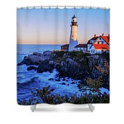 Portland Head Light II Shower Curtain