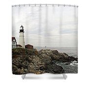 Portland Head Shower Curtain