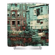 Portland Historic District Shower Curtain