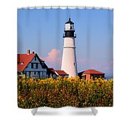 Portland Light Shower Curtain