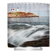 Portland Lighthouse Shower Curtain