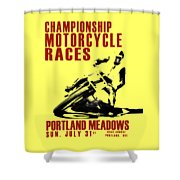 Portland Meadows Shower Curtain
