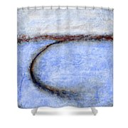 Portland Morning Abstract Shower Curtain