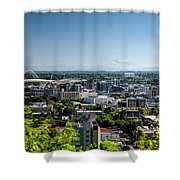 Portland Oregon Shower Curtain