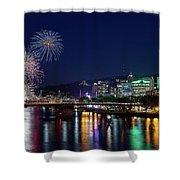Portland Rose Festival 2017 Fireworks Shower Curtain