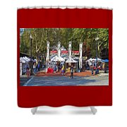 Portland Saturday Market Shower Curtain