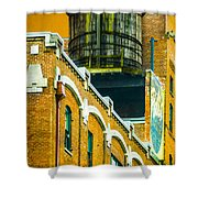 Portland Water Tower II Shower Curtain
