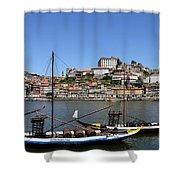 Porto 8 Shower Curtain