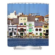 Porto Colum Shower Curtain