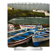 Porto Dos Carneiros Shower Curtain