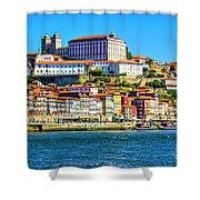 Porto Portugal Shower Curtain