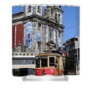Porto Trolley 1 Shower Curtain