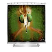 Portrait 11 Shower Curtain