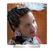 Portrait # 370 Shower Curtain
