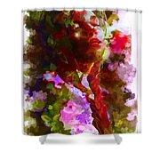 Portrait 8 Shower Curtain