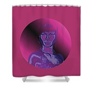 Portrait In Berry 1 Shower Curtain