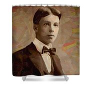 Portrait Of A Boy 16 Shower Curtain
