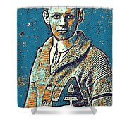 Portrait Of A Boy 24 By Adam Asar -  Asar Studios Shower Curtain