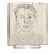 Portrait Of A Boy, Jan Veth, 1874 - 1925 Shower Curtain