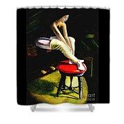 Portrait Of A Dancer Shower Curtain