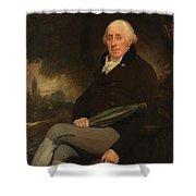 Portrait Of A Gentleman Beechey, William Shower Curtain