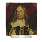 Portrait Of A Gentleman Shower Curtain