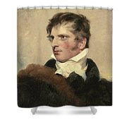 Portrait Of A Gentleman, Sir Thomas Lawrence Shower Curtain