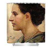 Portrait Of A Girl Henryk Semiradsky Shower Curtain
