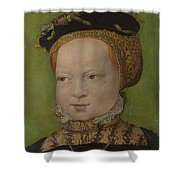 Portrait Of A Girl Shower Curtain