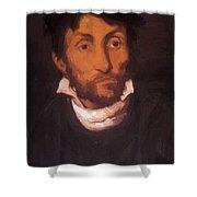Portrait Of A Kleptomaniac 1822 Shower Curtain