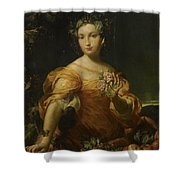 Portrait Of A Lady, Allegory Of Abundantia Shower Curtain