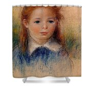 Portrait Of A Little Girl Shower Curtain