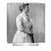 Portrait Of A Nurse Shower Curtain