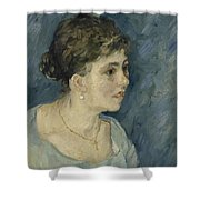 Portrait Of A Prostitute Antwerp December 1885 Vincent Van Gogh 1853  1890 Shower Curtain