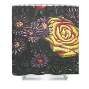 Portrait Of A Rose 7 Shower Curtain