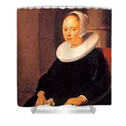 Portrait Of A Woman 1646 Shower Curtain