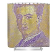 Portrait Of A Young Artist 2 Shower Curtain