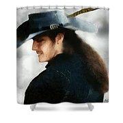 Portrait Of A Young Man As A Buccaneer Shower Curtain