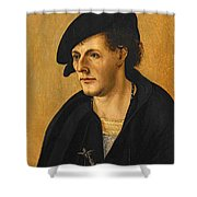 Portrait Of A Young Man Shower Curtain