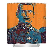 Portrait Of A Young  Wwi Soldier Series 12 Shower Curtain