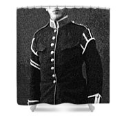 Portrait Of A Young  Wwi Soldier Series 13 Shower Curtain